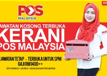 jawatan kerani pos malaysia