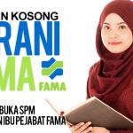 Jawatan Kosong FAMA (Lembaga Pemasaran Pertanian Persekutuan)