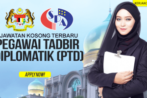 Jawatan Kosong Pegawai Tadbir & Diplomatik (PTD) 2019
