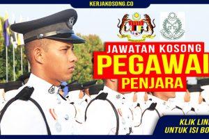 Jawatan Kosong Pegawai Penjara Malaysia