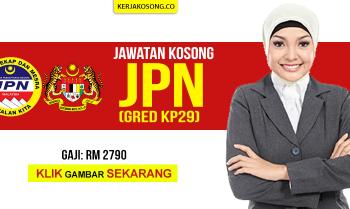 Jawatan Kosong JPN 2019