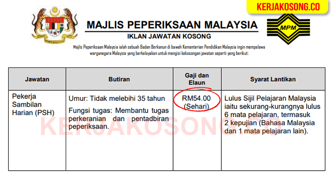 jawatan kosong majlis peperiksaan malaysia mpm featured image