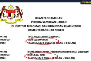 Jawatan Kosong Kementerian Luar Negeri