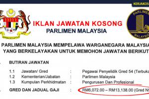 Jawatan Kosong Parlimen Malaysia