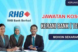 Jawatan Kosong Kerani RHB Bank