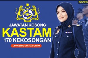 Jawatan Kosong Kastam 2019