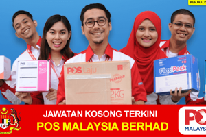 Jawatan Kosong Pos Malaysia Berhad