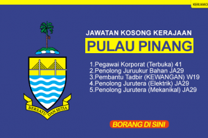 Jawatan Kosong Pulau Pinang