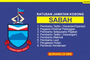 Jawatan Kosong Sabah