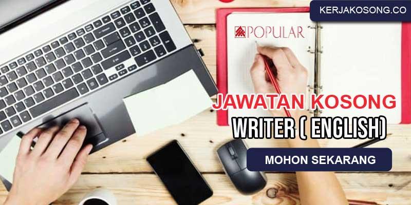 kerja kosong penulis