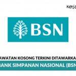 Jawatan Kosong Insurance Specialist (BSN)