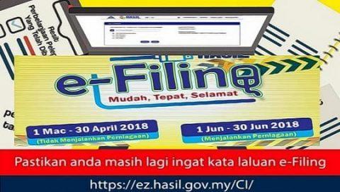 Tarikh Akhir Hantar Borang Cukai eFilling min e1555231861821