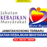 Jawatan Kosong Jabatan Kebajikan Masyarakat (JKM)