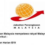 Jawatan Kosong Di Jabatan Perangkaan Pahang 2019