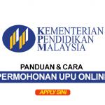 Panduan Permohonan Online UPU 2019 - SPM