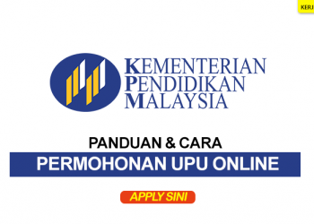 panduan permohonan upu online