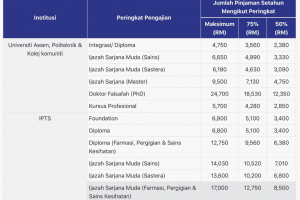 PTPTN: Semak Status Permohonan & Penyata Baki Pinjaman 2019