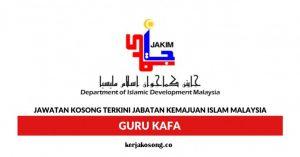 Jawatan Kosong Guru Kelas Al-Quran Dan Fardhu Ain (KAFA)