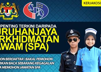 Jawatan Kosong Suruhanjaya Perkidmatan Awam 2019