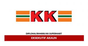 Jawatan Kosong KK Supermart & Superstore - Eksekutif Akaun