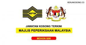 Jawatan Kosong Majlis Peperiksaan Malaysia (KPM)
