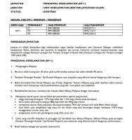 Maklumat Jawatan Kosong Universiti Selangor (UNISEL)