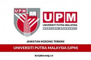 Jawatan Kosong Universiti Putra Malaysia (UPM) - Kerani Sambilan