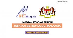 Jawatan Kosong Jabatan Meteorologi Malaysia