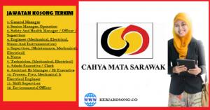Jawatan Kosong Cahya Mata Sarawak Berhad - Pelbagai Jawatan