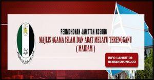 Jawatan Kosong Majlis Agama Islam Dan Adat Melayu Terengganu - Pelbagai Jawatan
