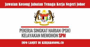 Jawatan Kosong Jabatan Tenaga Kerja Negeri Johor - PSH