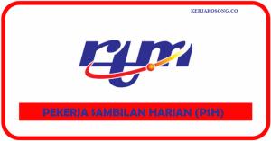 Jawatan Kosong Radio Televisyen Malaysia (RTM)