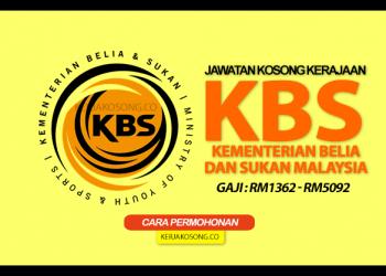 jawatan kosong kementerian belia & sukan malaysia