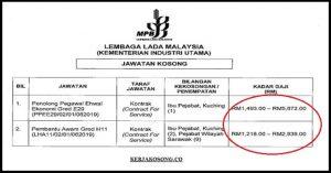 Jawatan Kosong Lembaga Lada Malaysia (MPB)