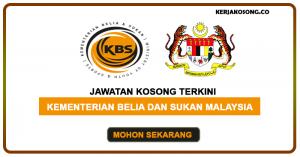Jawatan Kosong Kementerian Belia Dan Sukan Malaysia