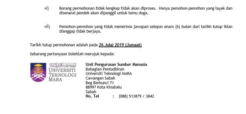UiTM KC Sabah 4
