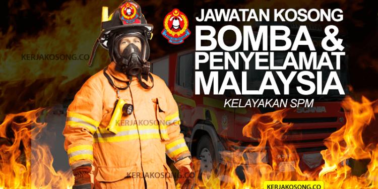 Jawatan kosong bomba penyelamat
