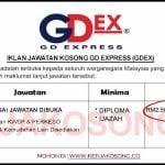 Jawatan Kosong GD Express (GDex)