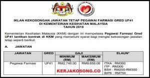 Jawatan Kosong Kementerian Kesihatan Malaysia (KKM)