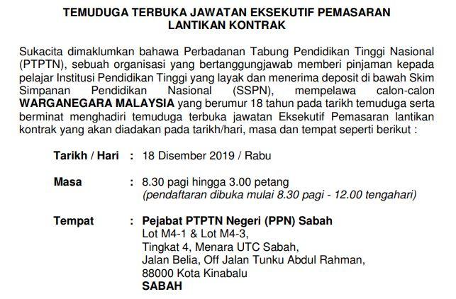 PTPTN Sabah KC TT