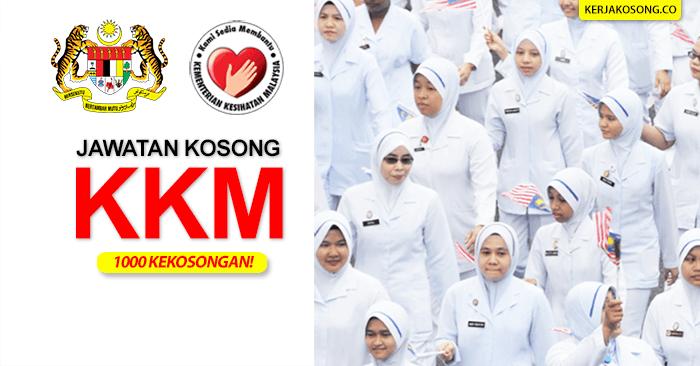 jawatan-kosong-kementerian-kesihatan-malaysia-kkm-1000 kekosongan