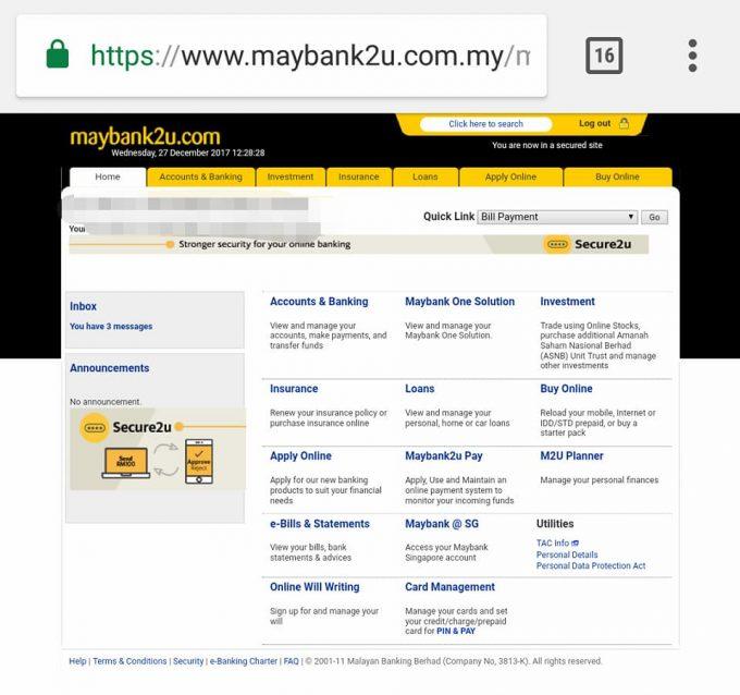 Cara Transfer Maybank2u Tanpa TAC Number img 5