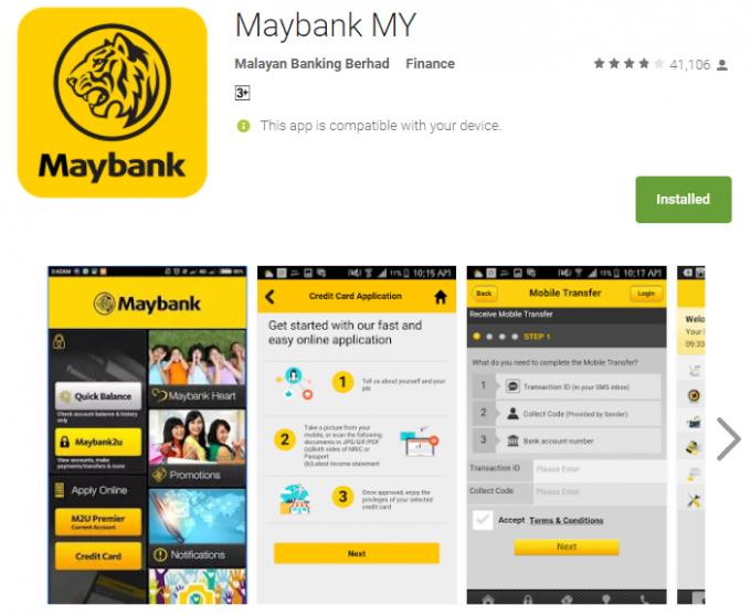 Cara Transfer Maybank2u Tanpa TAC Number img