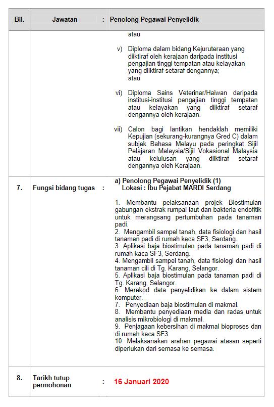 iklan jawatan kosong mardi img 2