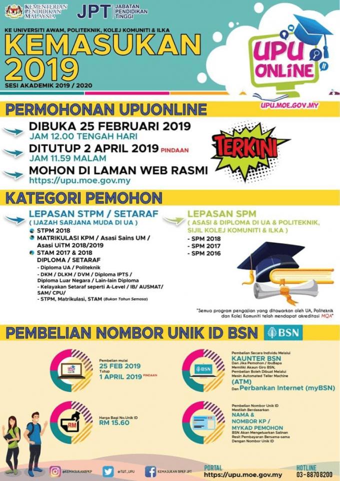 Permohonan UPU Online UA Politeknik ILKA img 3