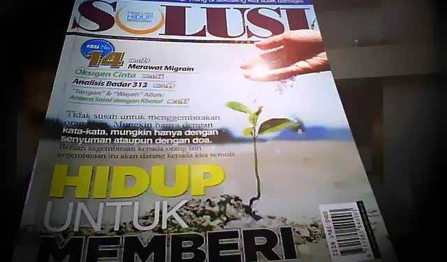 majalah solusi malaysia