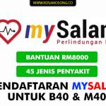 MySalam - Daftar & Semakan Permohonan