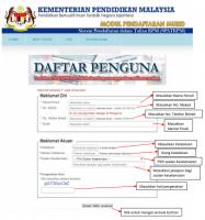 Pendaftaran Online Tahun 1