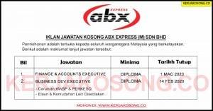 Jawatan Kosong ABX Express (M) Sdn Bhd