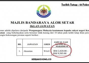 Jawatan Kosong Kedah